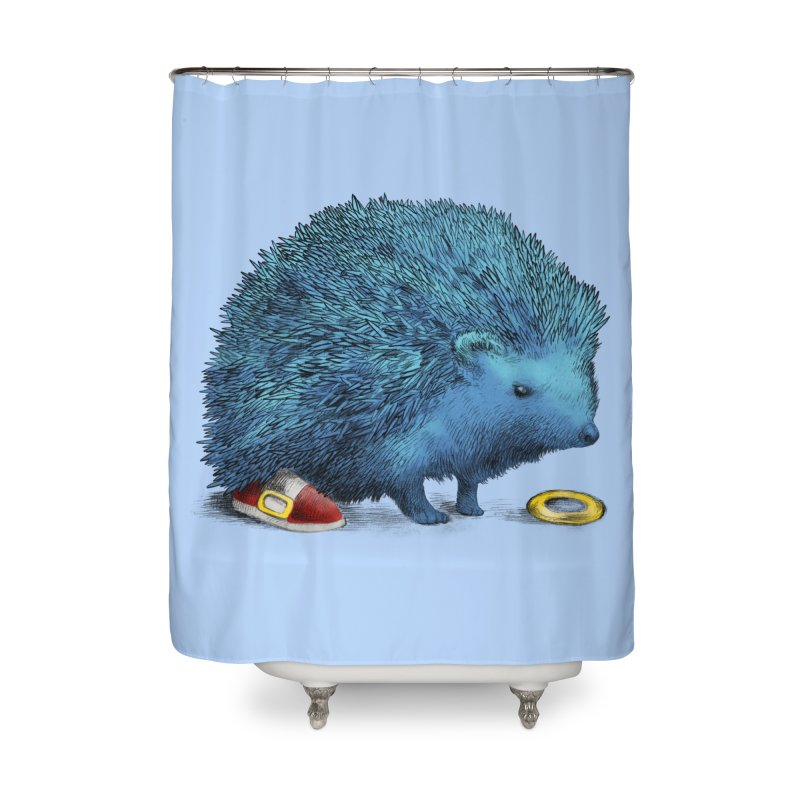 Supersonic Home Shower Curtain by ericfan's Artist Shop
