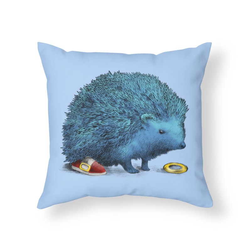 Supersonic Home Throw Pillow by ericfan's Artist Shop