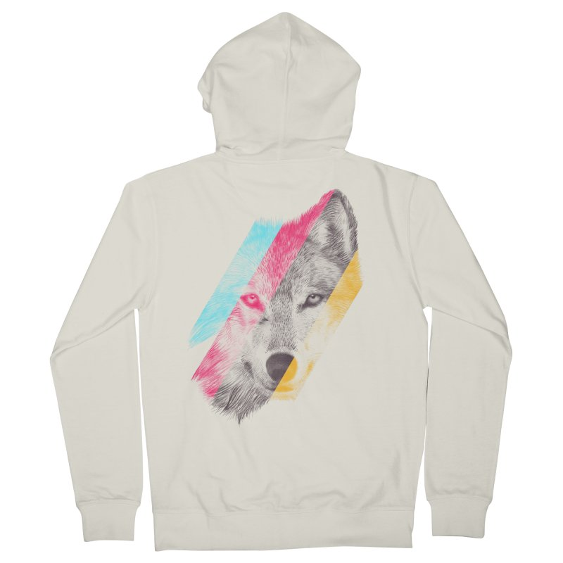 Wild Men's Zip-Up Hoody by ericfan's Artist Shop