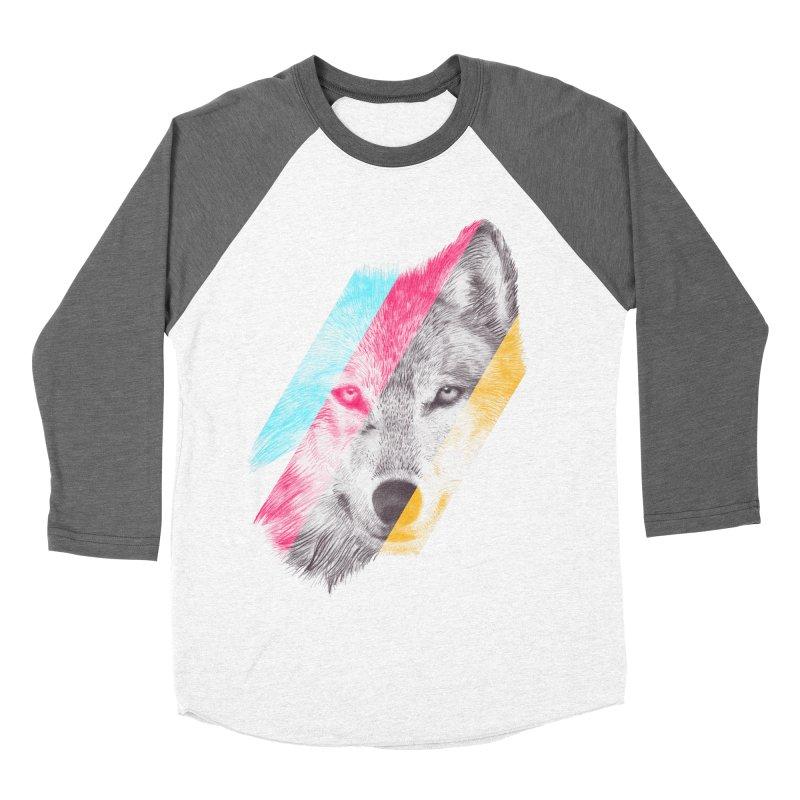 Wild Women's Baseball Triblend T-Shirt by ericfan's Artist Shop
