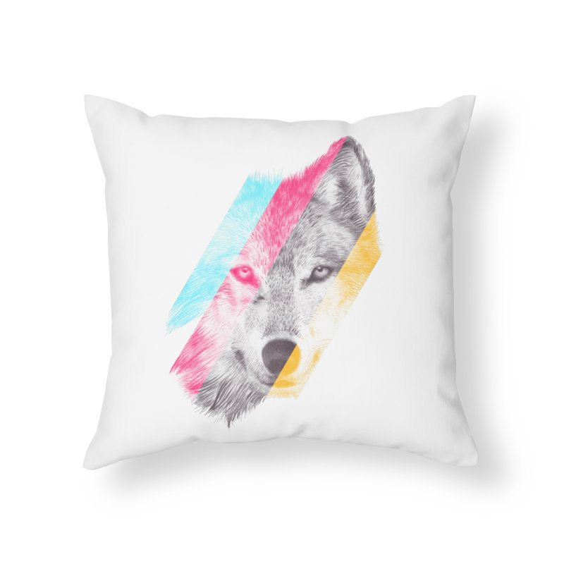 Wild Home Throw Pillow by ericfan's Artist Shop