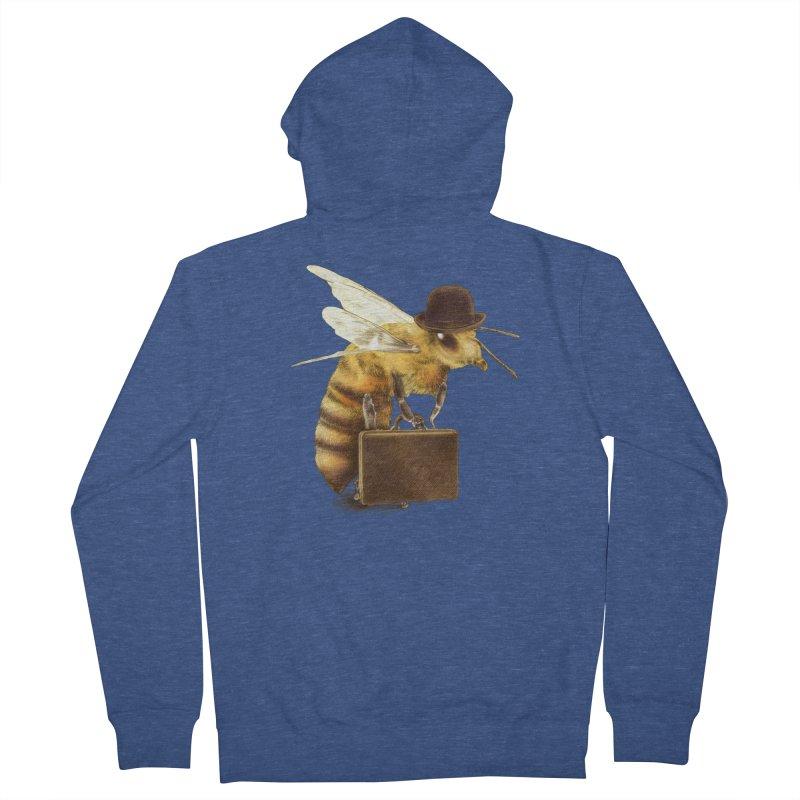 Worker Bee Women's Zip-Up Hoody by ericfan's Artist Shop
