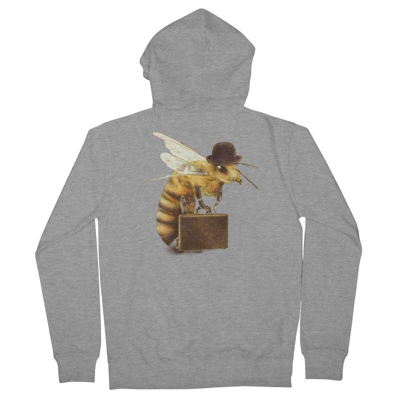 Worker Bee Men's Zip-Up Hoody by ericfan's Artist Shop