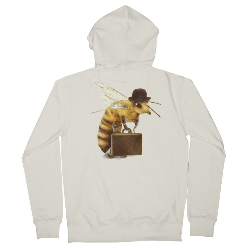 Worker Bee Men's Zip-Up Hoody by ericfan's Artist Shop