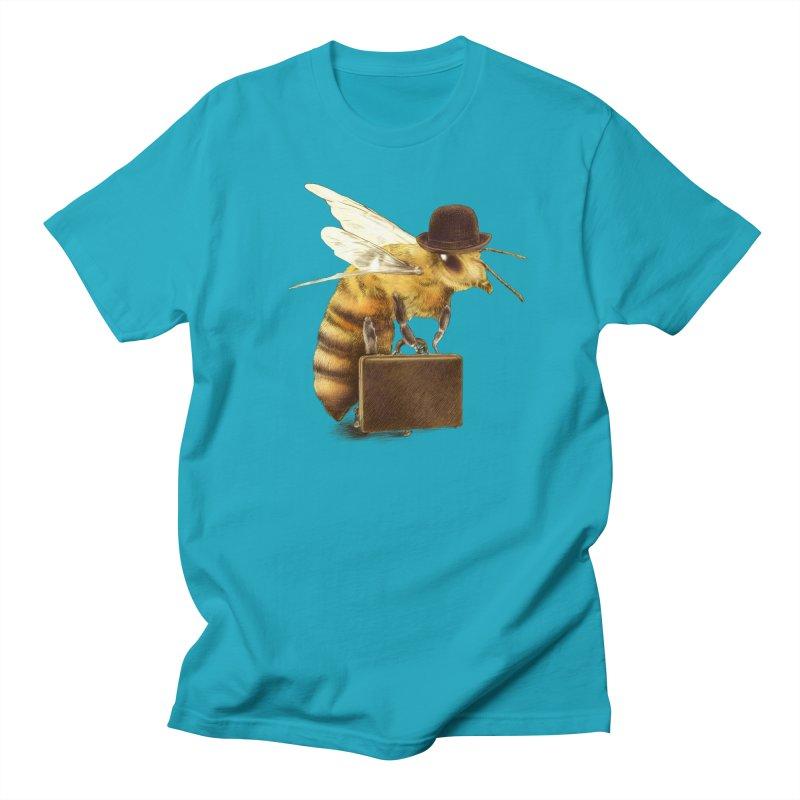 Worker Bee Men's Regular T-Shirt by ericfan's Artist Shop