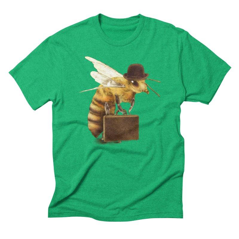 Worker Bee Men's Triblend T-shirt by ericfan's Artist Shop