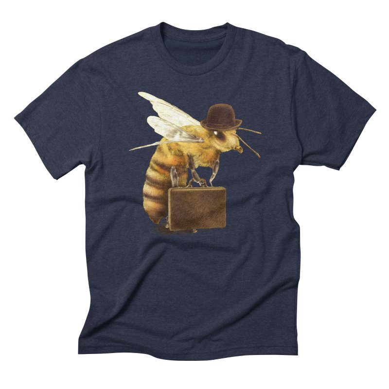 Worker Bee Men's Triblend T-shirt by ericfan's Artist Shop