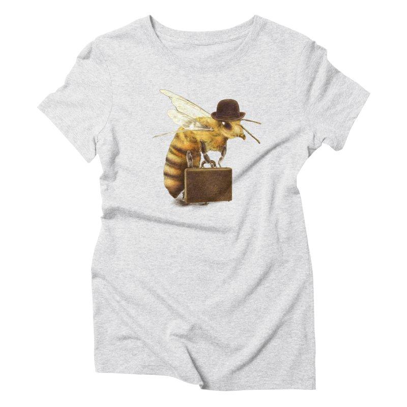 Worker Bee Women's Triblend T-shirt by ericfan's Artist Shop