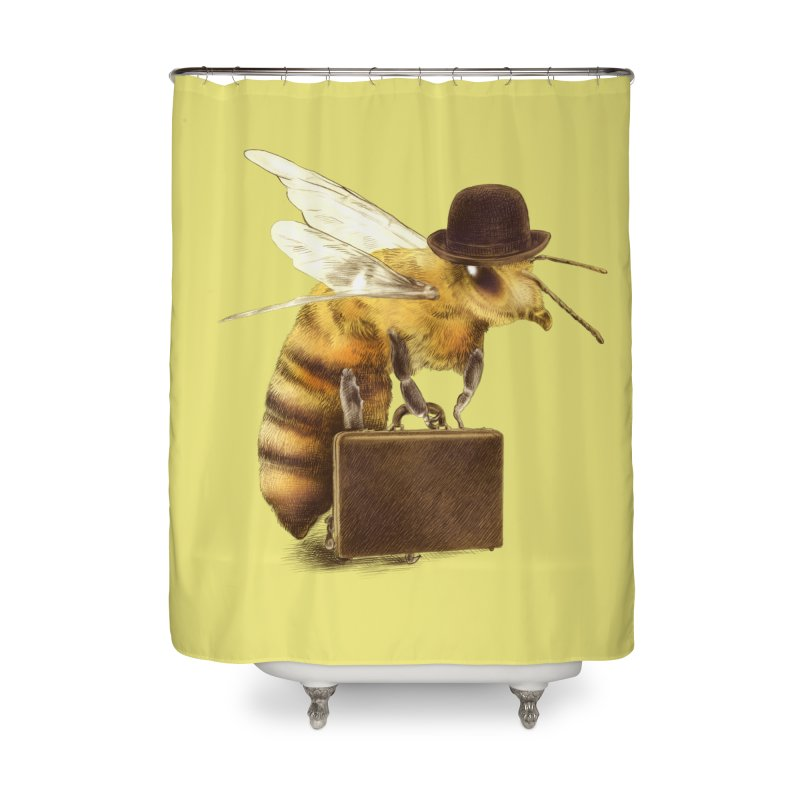 Worker Bee Home Shower Curtain by ericfan's Artist Shop