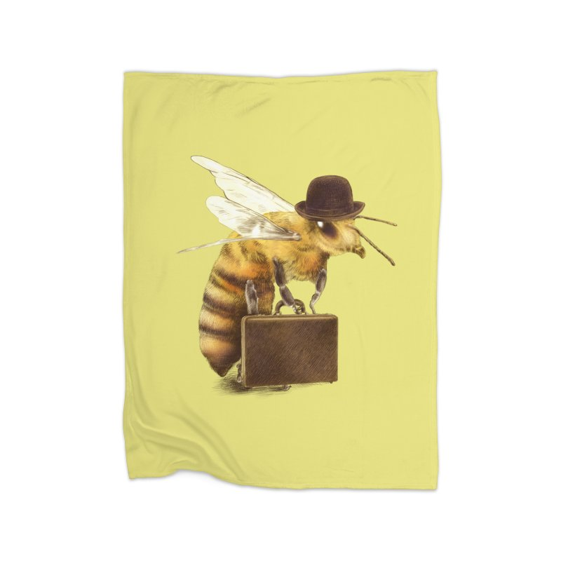 Worker Bee Home Blanket by ericfan's Artist Shop