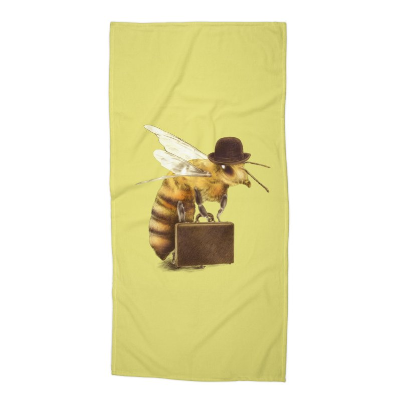 Worker Bee Accessories Beach Towel by ericfan's Artist Shop