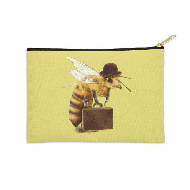 Worker Bee Accessories Zip Pouch by ericfan's Artist Shop