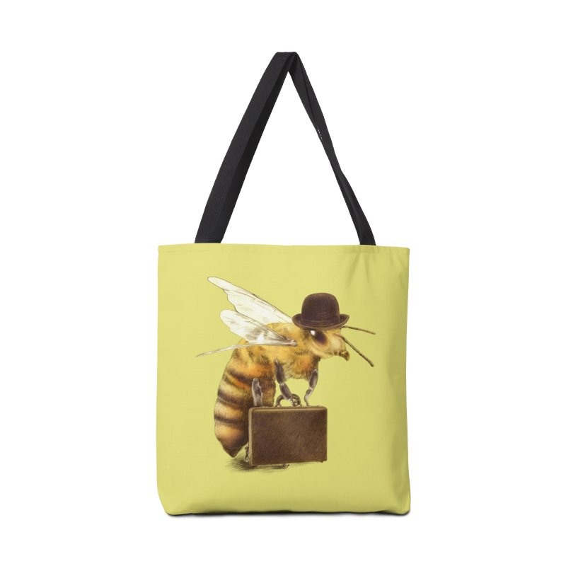 Worker Bee Accessories Bag by ericfan's Artist Shop