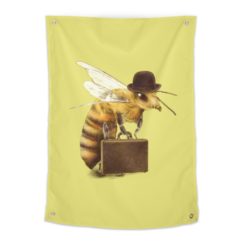Worker Bee Home Tapestry by ericfan's Artist Shop