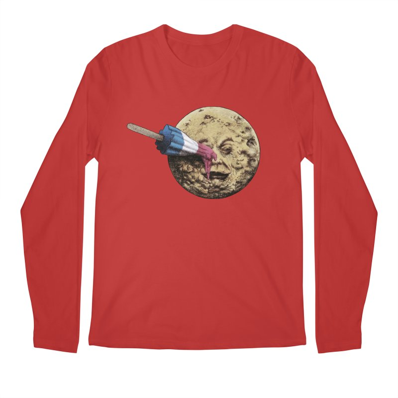 Le voyage du popsicle Men's Longsleeve T-Shirt by ericfan's Artist Shop