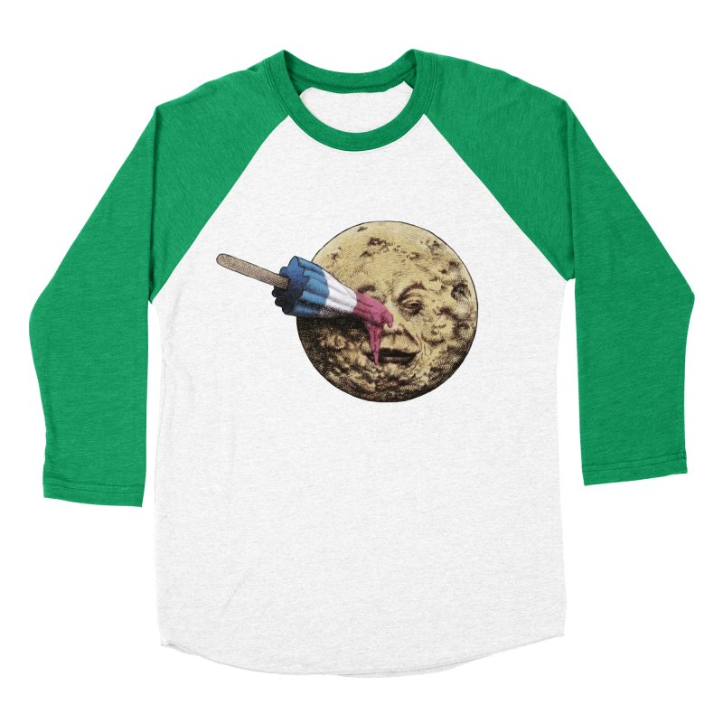 Le voyage du popsicle Women's Baseball Triblend T-Shirt by ericfan's Artist Shop