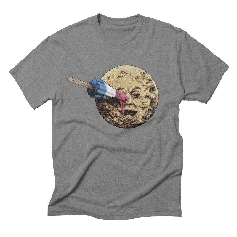 Le voyage du popsicle Men's Triblend T-shirt by ericfan's Artist Shop