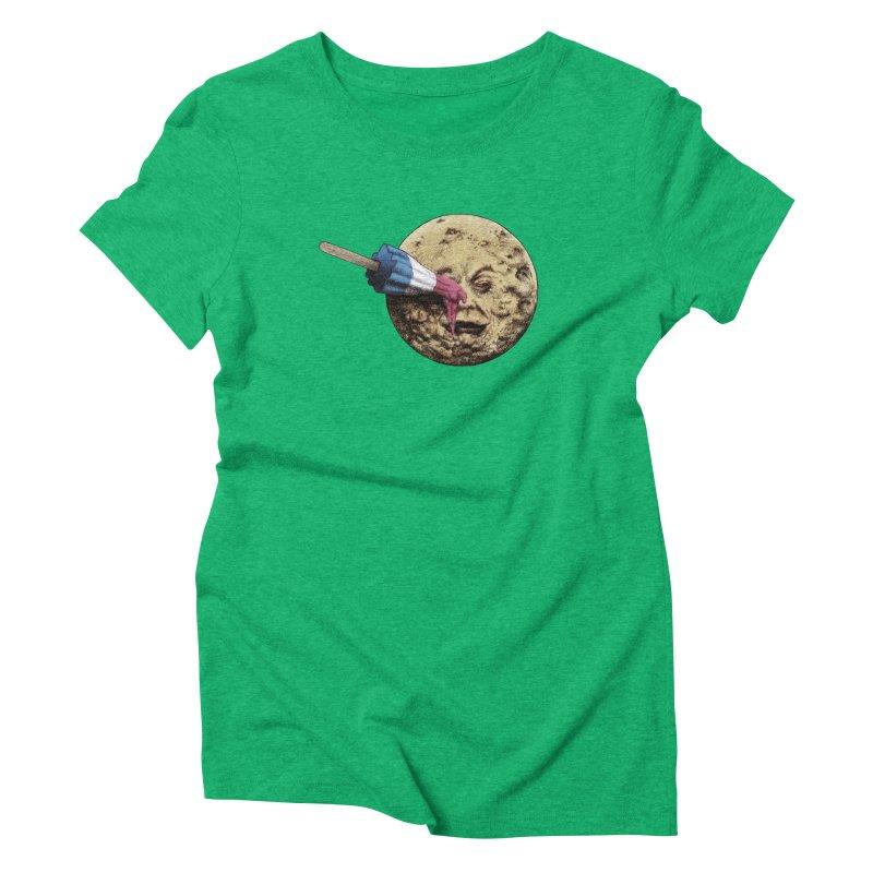 Le voyage du popsicle Women's Triblend T-shirt by ericfan's Artist Shop