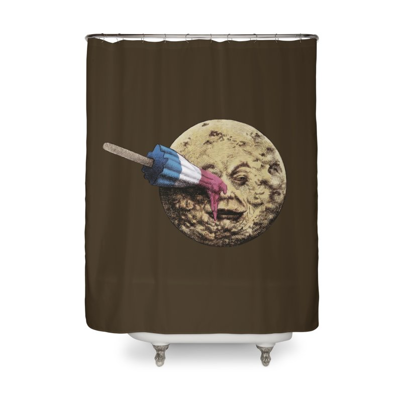 Le voyage du popsicle Home Shower Curtain by ericfan's Artist Shop