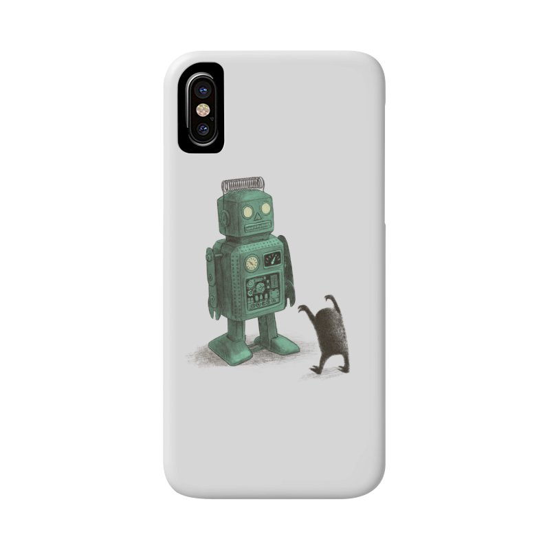Robot Vs Alien Accessories Phone Case by ericfan's Artist Shop