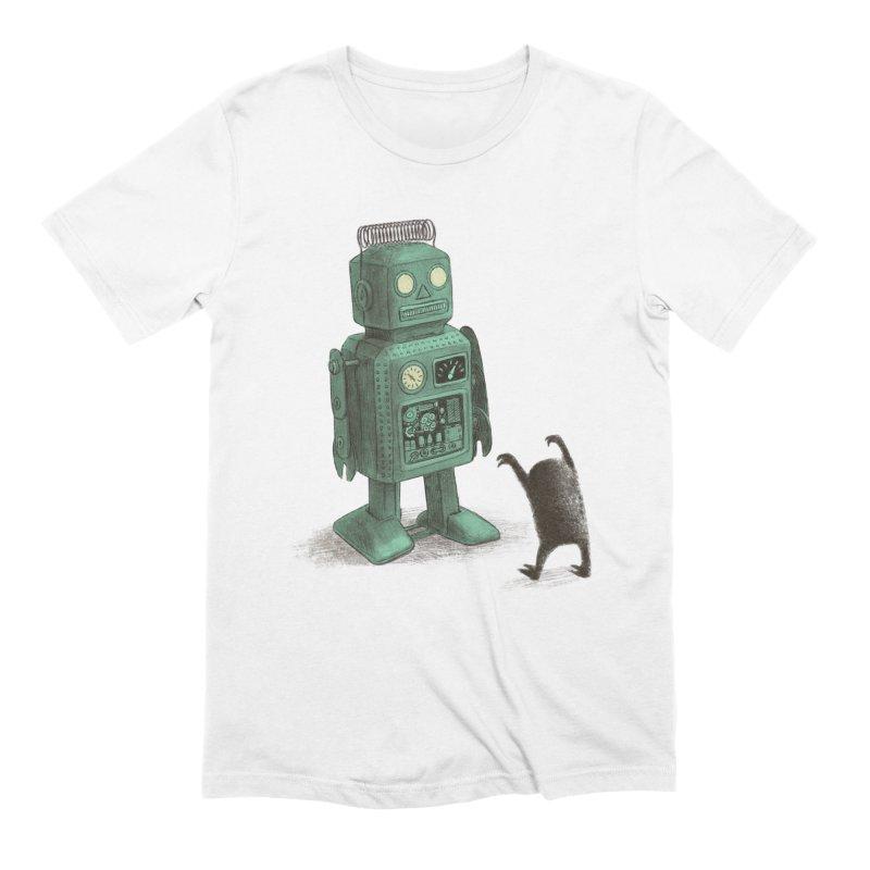 Robot Vs Alien Men's Extra Soft T-Shirt by ericfan's Artist Shop