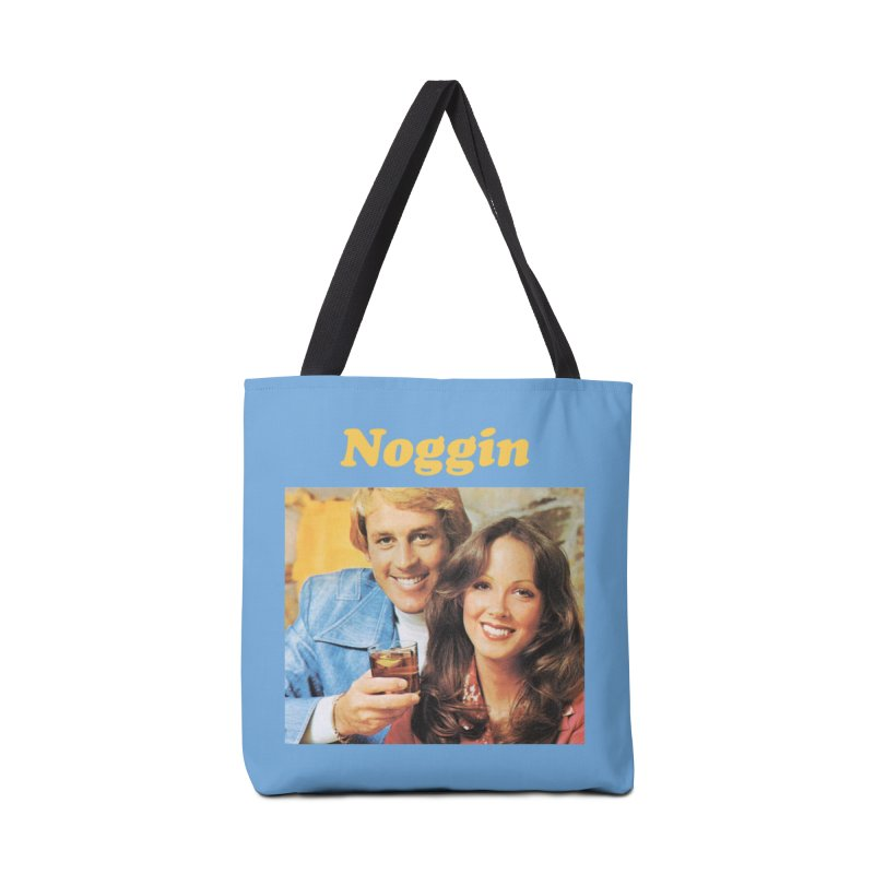 Noggin Accessories Tote Bag Bag by ericpeacock's Artist Shop