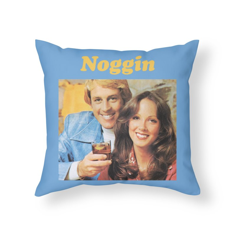 Noggin Home Throw Pillow by ericpeacock's Artist Shop
