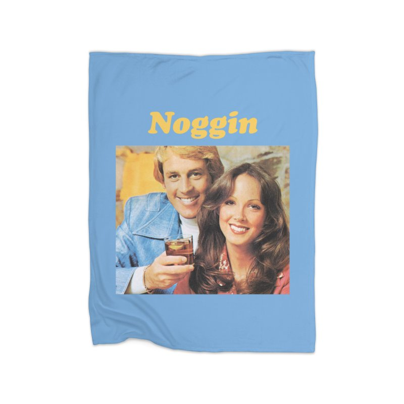 Noggin Home Fleece Blanket Blanket by ericpeacock's Artist Shop