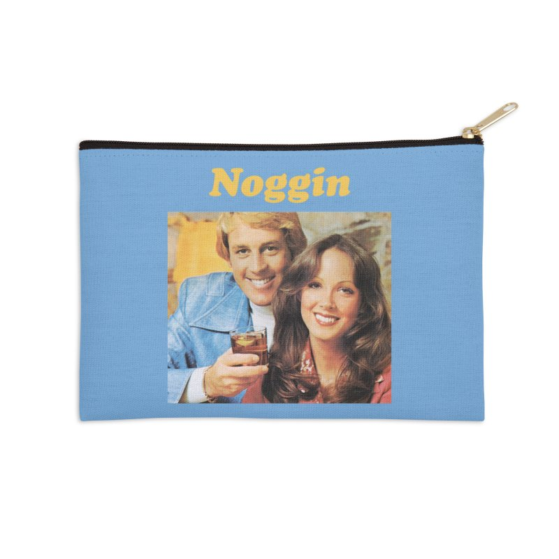 Noggin Accessories Zip Pouch by ericpeacock's Artist Shop