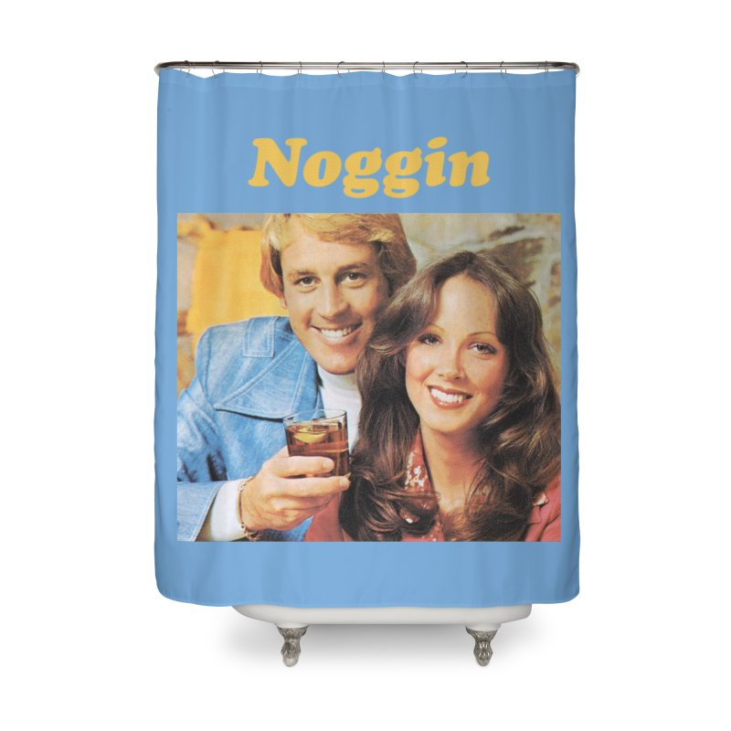 Noggin Home Shower Curtain by ericpeacock's Artist Shop