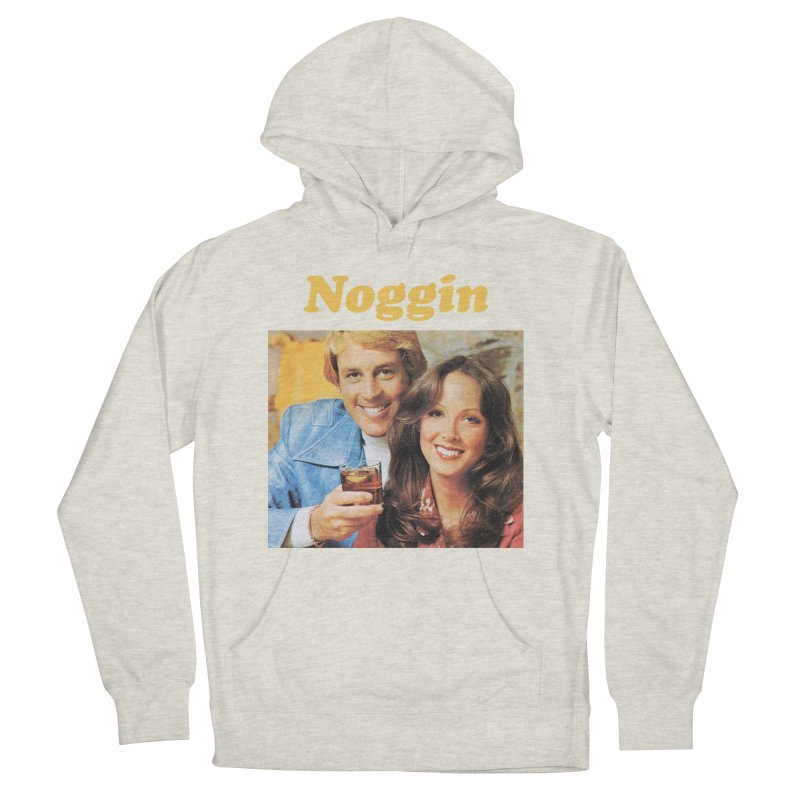 Noggin Men's French Terry Pullover Hoody by ericpeacock's Artist Shop