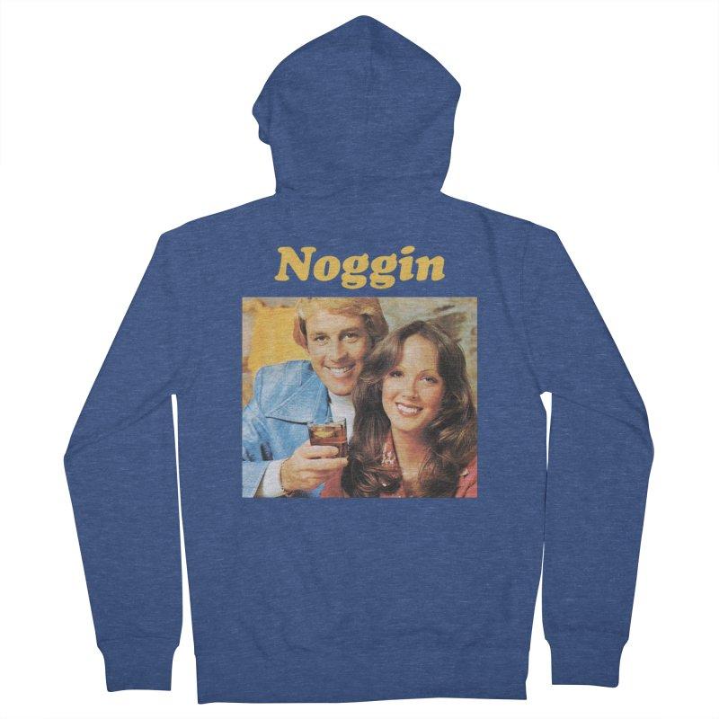 Noggin Men's Zip-Up Hoody by ericpeacock's Artist Shop