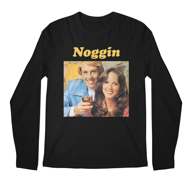 Noggin Men's Regular Longsleeve T-Shirt by ericpeacock's Artist Shop