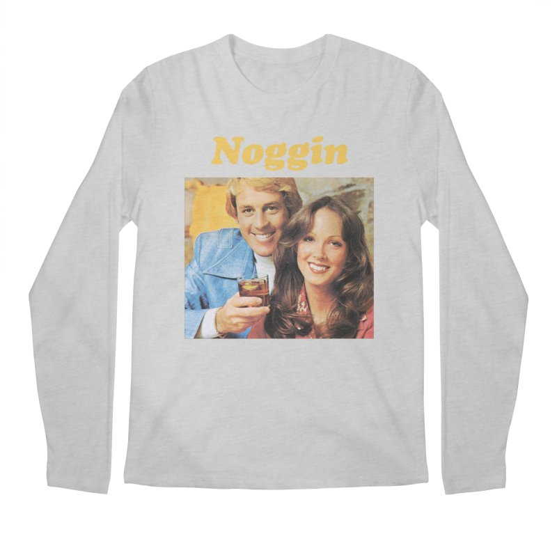Noggin Men's Longsleeve T-Shirt by ericpeacock's Artist Shop