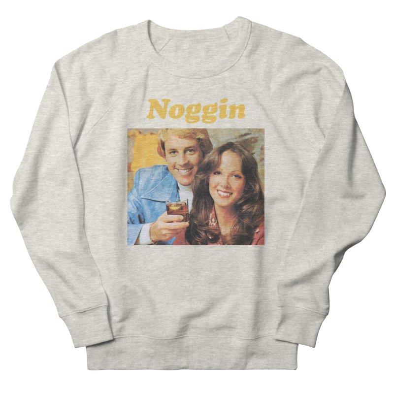 Noggin Men's French Terry Sweatshirt by ericpeacock's Artist Shop
