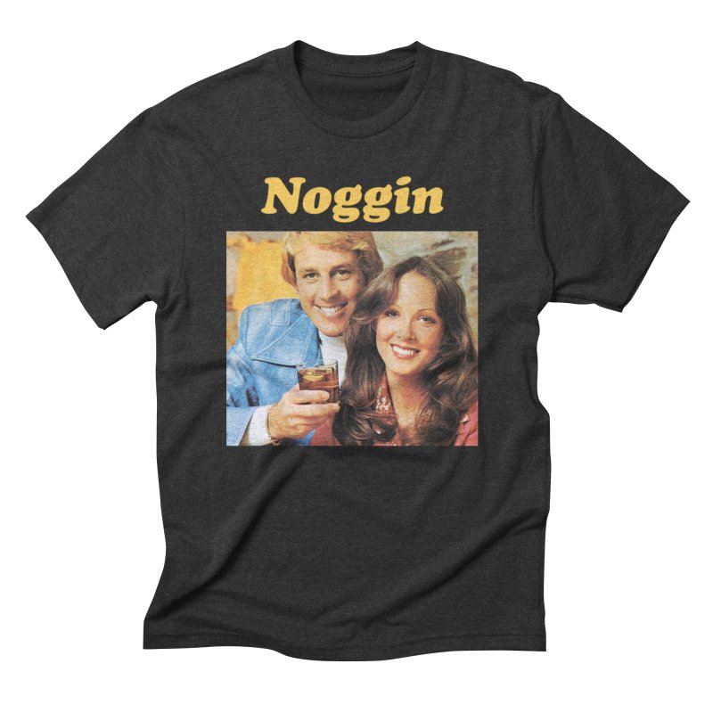 Noggin Men's Triblend T-Shirt by ericpeacock's Artist Shop