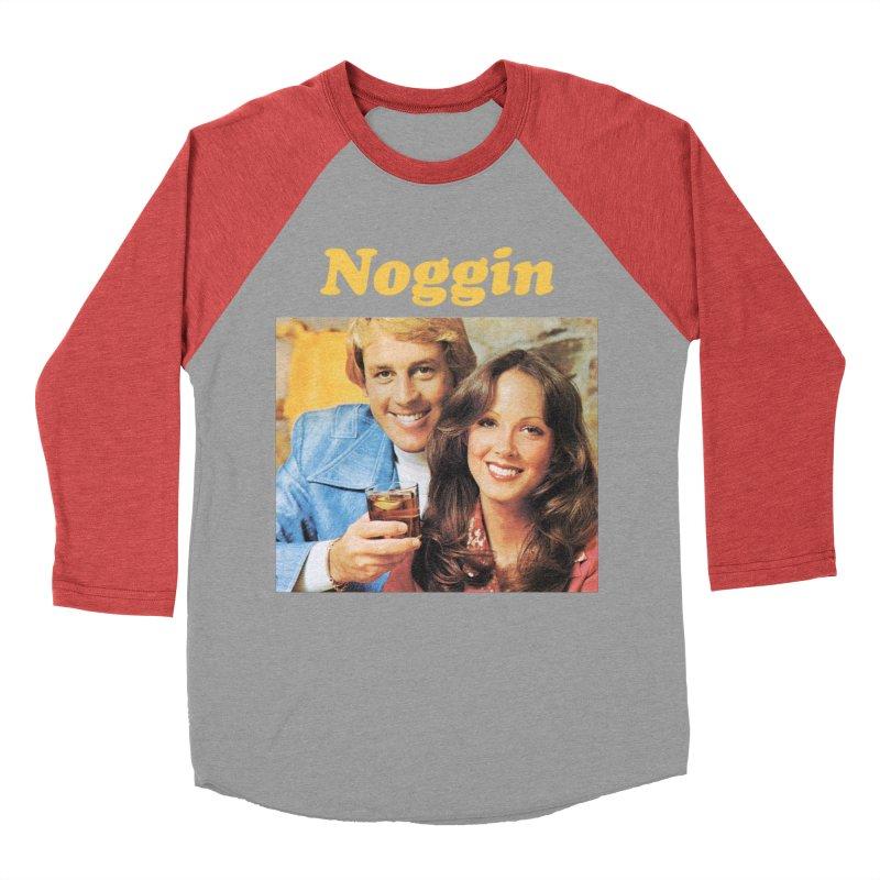 Noggin Men's Baseball Triblend T-Shirt by ericpeacock's Artist Shop