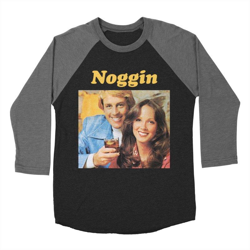 Noggin Men's Baseball Triblend Longsleeve T-Shirt by ericpeacock's Artist Shop