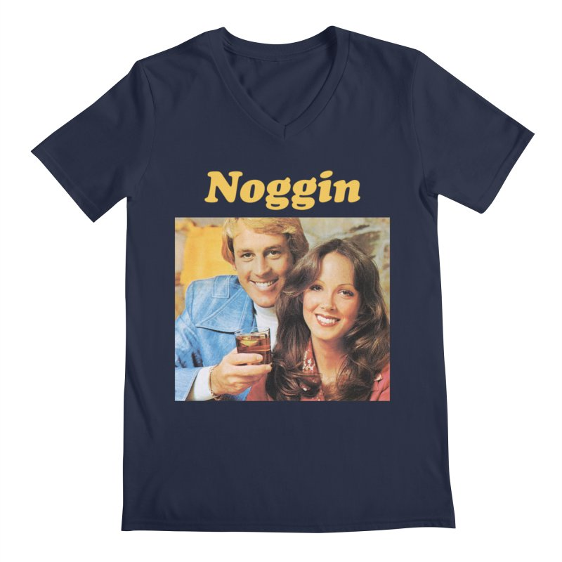 Noggin Men's V-Neck by ericpeacock's Artist Shop