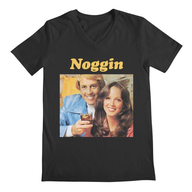 Noggin Men's Regular V-Neck by ericpeacock's Artist Shop