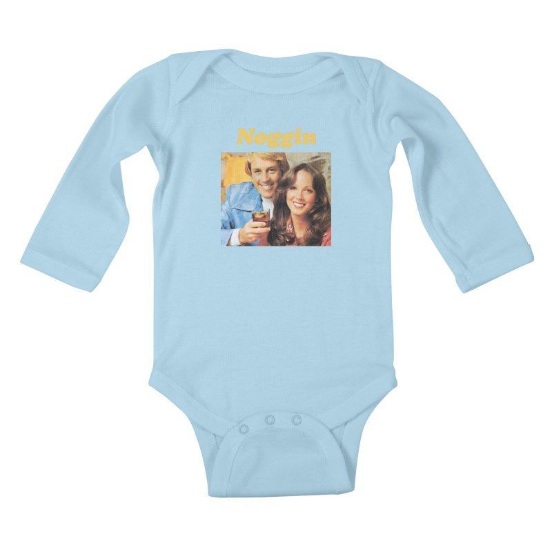 Noggin Kids Baby Longsleeve Bodysuit by ericpeacock's Artist Shop