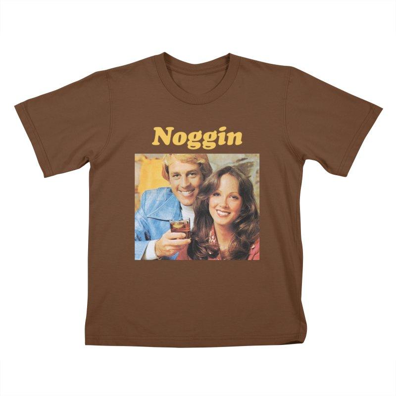 Noggin Kids T-Shirt by ericpeacock's Artist Shop