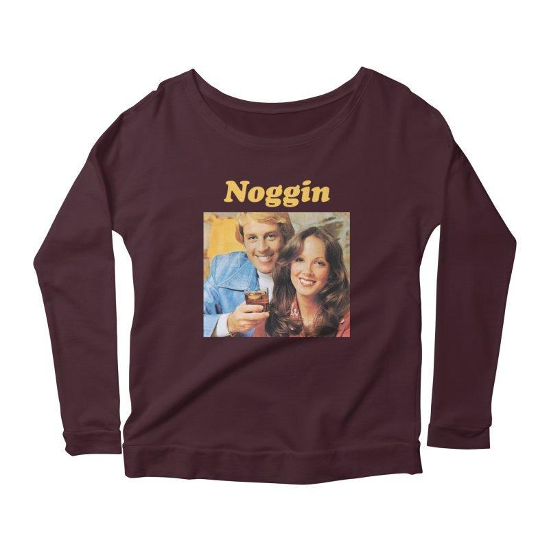Noggin Women's Scoop Neck Longsleeve T-Shirt by ericpeacock's Artist Shop