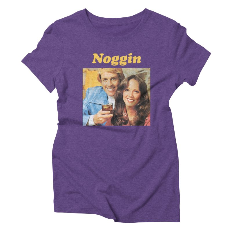 Noggin Women's Triblend T-Shirt by ericpeacock's Artist Shop