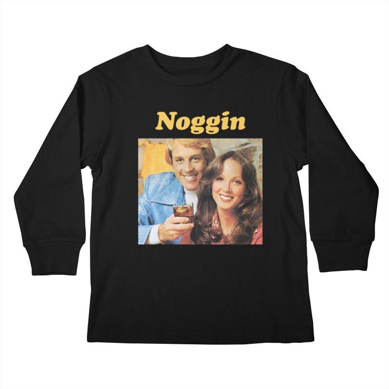 Noggin Kids Longsleeve T-Shirt by ericpeacock's Artist Shop