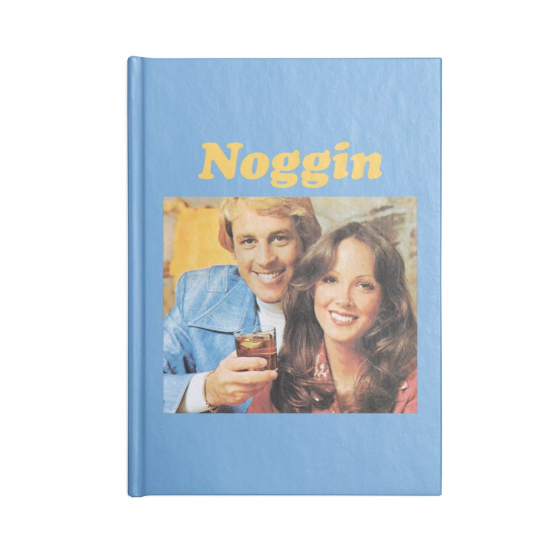 Noggin Accessories Notebook by ericpeacock's Artist Shop