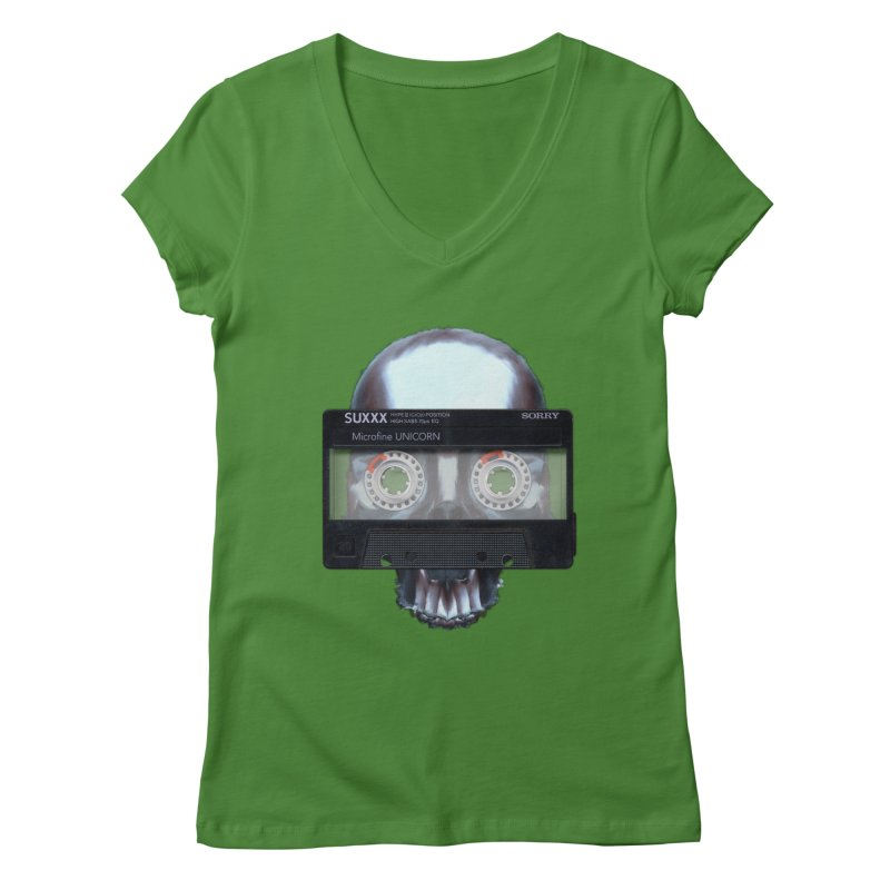 Hasty Philosophies Women's V-Neck by ericpeacock's Artist Shop