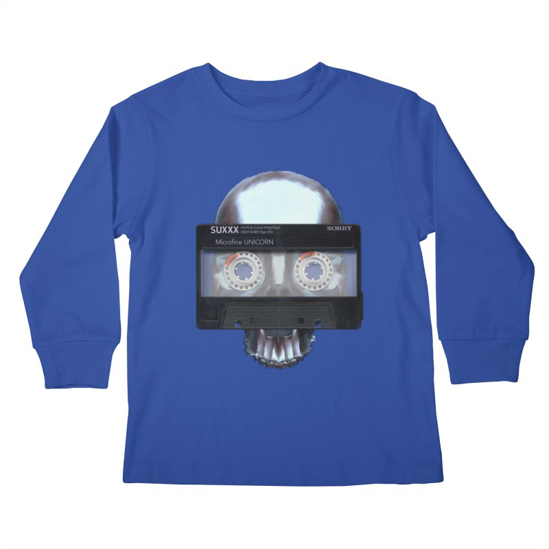 Hasty Philosophies Kids Longsleeve T-Shirt by ericpeacock's Artist Shop