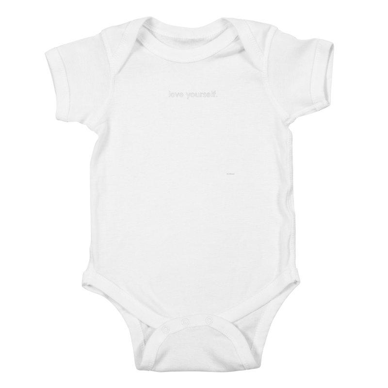 LOVE YOURSELF #4 Kids Baby Bodysuit by Eric Washington's Merch Shop
