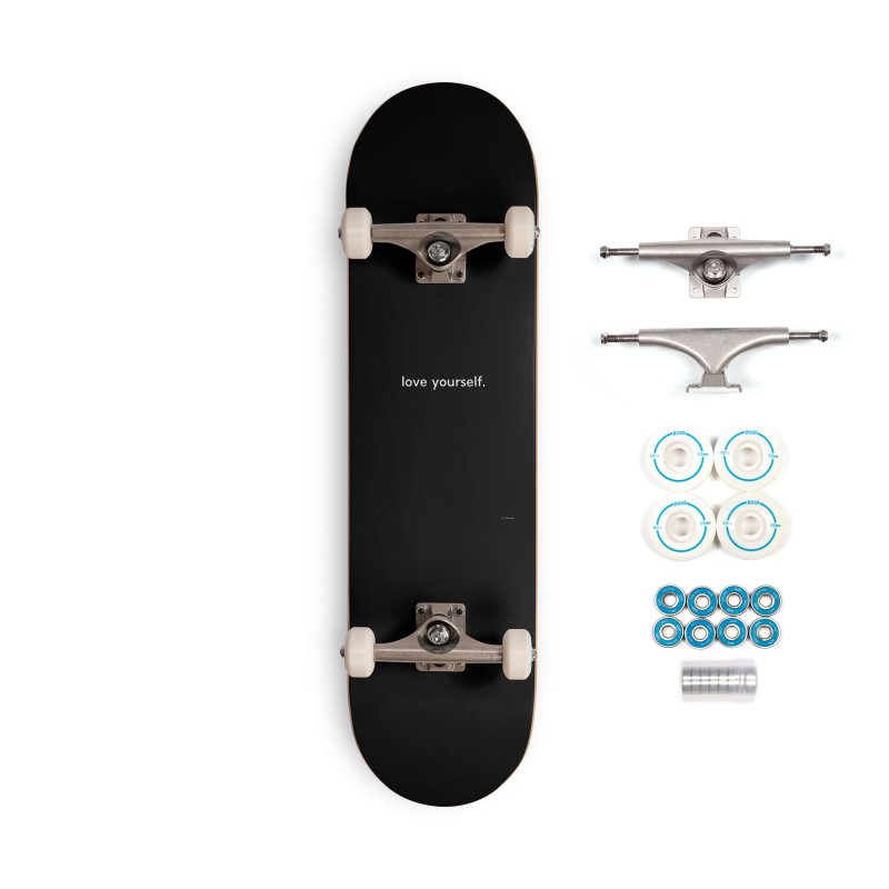 LOVE YOURSELF #4 Accessories Complete - Basic Skateboard by Eric Washington's Merch Shop